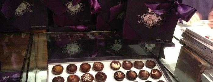 Vosges Haut Chocolat is one of When the Parents Come Visit.