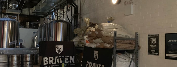 Braven Brewing Company is one of Brewery.