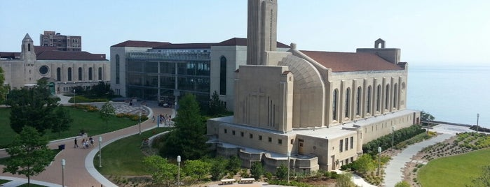 Loyola University Chicago - Lake Shore Campus is one of Jared's Liked Places.