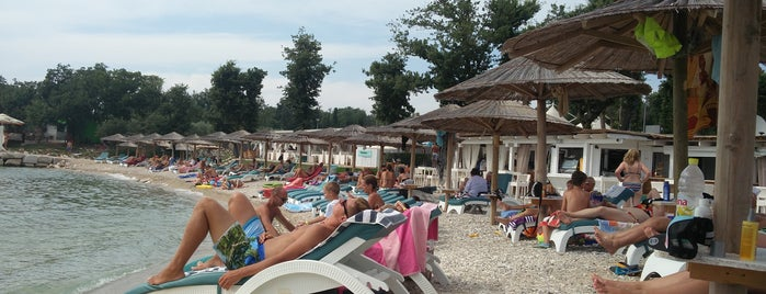 Polidor beach bar is one of Croatia top spots.