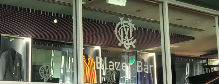 Blazer Bar is one of Pubs: Public potation of pilsner pints & parmas:.