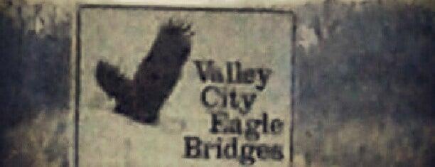 Valley City Eagle Bridges is one of Orte, die Susan gefallen.