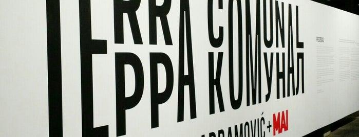 Terra Comunal - Marina Abramovic + MAI is one of Locais curtidos por Bruno.