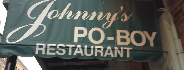 Johnny's Po-Boys is one of Eat. Play. Live..