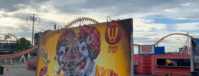 Coney Art Walls is one of Atlas Obscura Brooklyn.