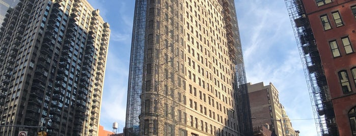 Flatiron Building is one of New York 2015.