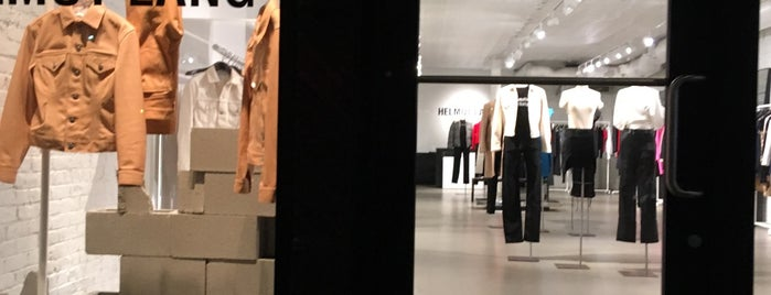 Helmut Lang is one of New York.