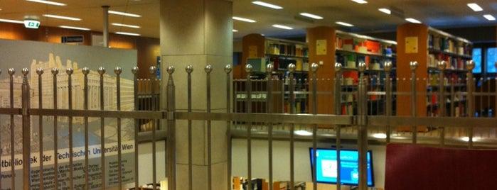 Universitätsbibliothek der Technischen Universität Wien is one of Books everywhere I..