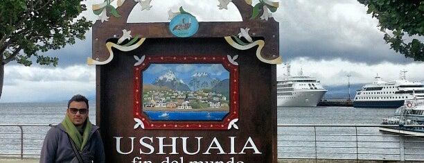"""Cartel de """"Ushuaia, fin del mundo"""" is one of Patagonia (AR)."""