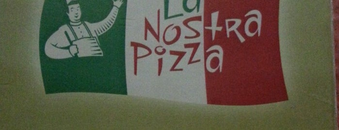 La Nostra Pizza is one of Melhores Restaurantes e Bares do RJ.