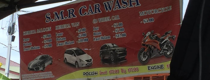 S.M.R. Car Wash is one of Orte, die S gefallen.