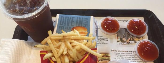 McDonald's Lambak & Drive-thru is one of S 님이 좋아한 장소.