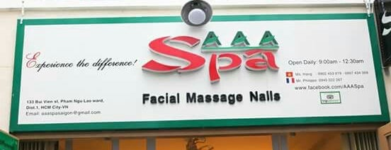 AAA Spa is one of Vietnam.