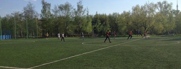 """Спортивный городок """"Яуза"""" is one of Sport Spots."""