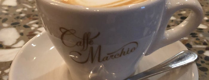 Caffe Marchio is one of NYC: Flatiron/Union Sq.