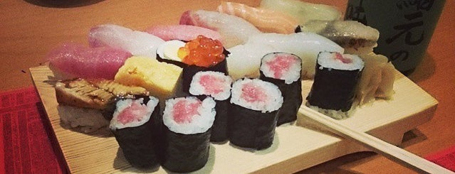 Sushimoto is one of Hotspots Hessen | Restaurants & Bars | in/um FFM.