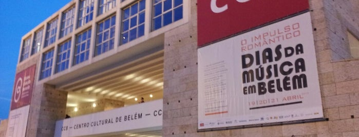 Centro Cultural de Belém (CCB) is one of Lisbonne 2017.