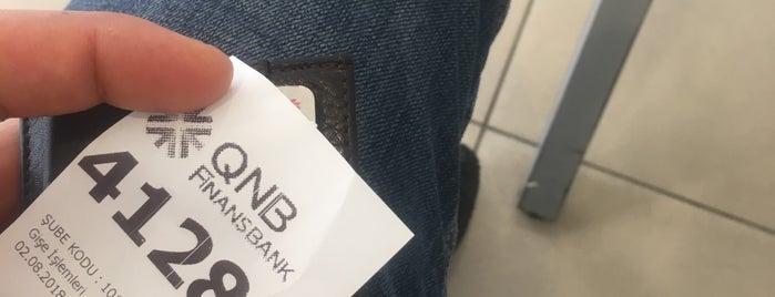 QNB Finansbank is one of Lieux qui ont plu à My.