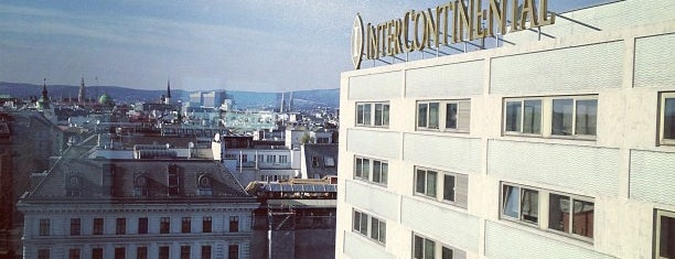 InterContinental is one of Hotels Vienna.
