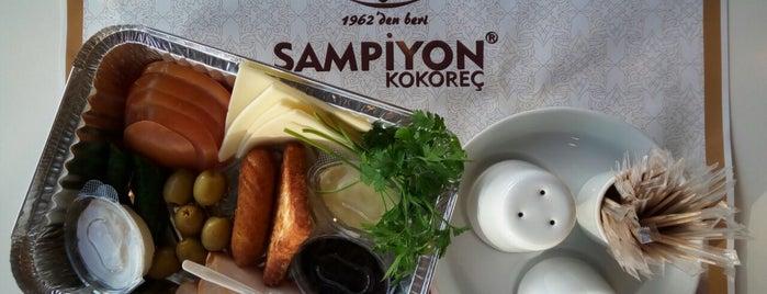 Şampiyon Kokoreç Ve Sandwich is one of Tempat yang Disukai Ertan.