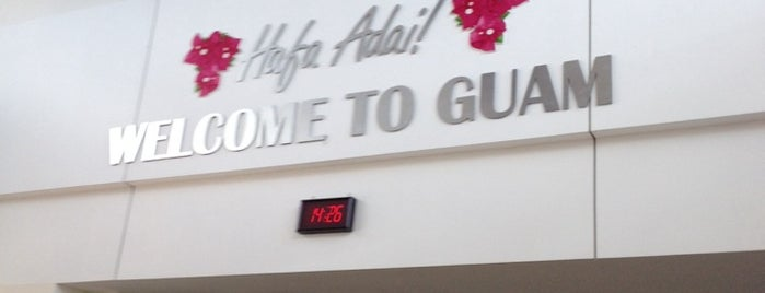A.B. Won Pat Guam International Airport (GUM) is one of Top 100 U.S. Airports.