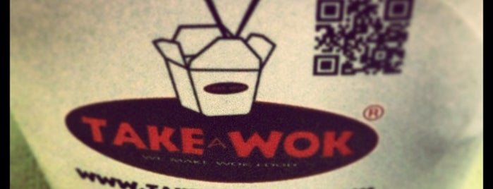 Take a Wok is one of Lugares.