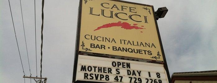 Cafe Lucci is one of Darien 님이 좋아한 장소.