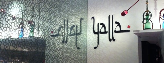 Yalla is one of Restaurantes.