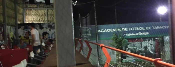 Academia de fútbol CHIAPAS JAGUAR is one of Por corregir.
