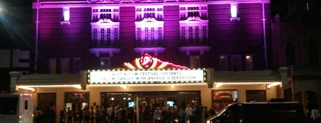 Paramount Theatre is one of SXSW 2013 (South By South-West).