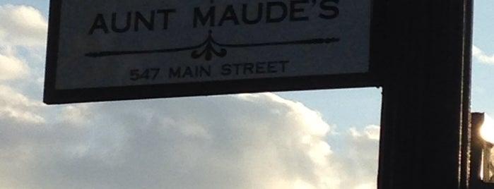 Aunt Maude's is one of Iowa Restaurants 🌽.