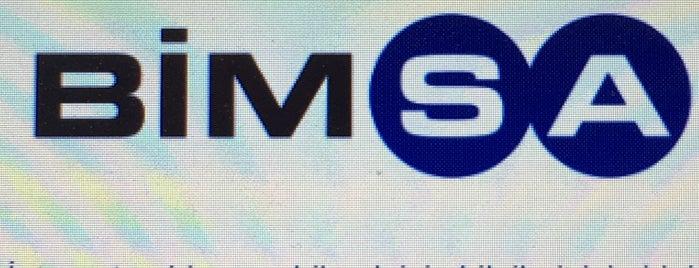 Bimsa Uluslar Arası İş ve Bilgi Sistemleri A.Ş. is one of Kavacık Şirketler.
