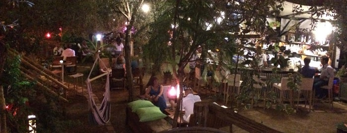 Botanik Garden Bar Kalkan is one of T.