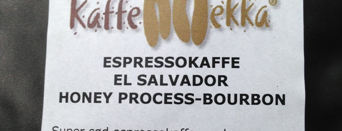 Kaffemekka is one of Lugares favoritos de Esben.