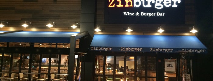Zinburger Wine & Burger Bar is one of My Boca Spots.