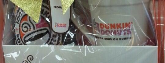 Dunkin' is one of Orte, die Tyler gefallen.