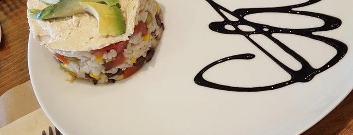 La Huella. Café Cultural Vegetariano. Rivas is one of Mis restos favoritos.