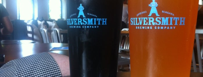 Silversmith Brewery is one of Niagara on the Lake.