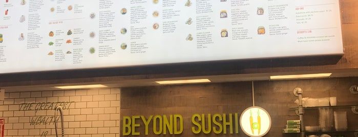 Beyond Sushi is one of Lower Manhattan.