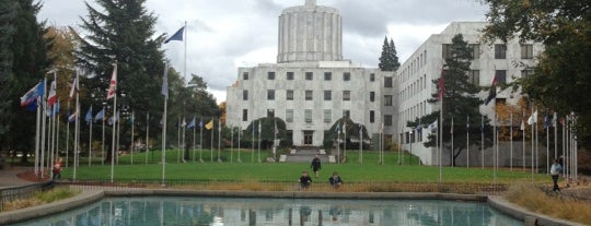 Oregon State Capitol Building is one of Oregon - The Beaver State (1/2).