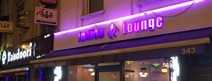 Indian Lounge is one of London.