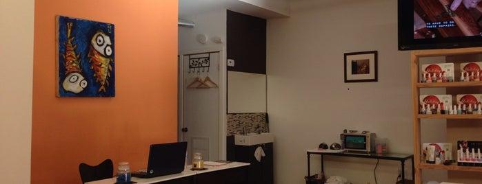 Logan Square Nail Salon is one of Andy : понравившиеся места.