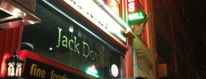 Jack Doyle's is one of Midtown Bars That Don't Suck.