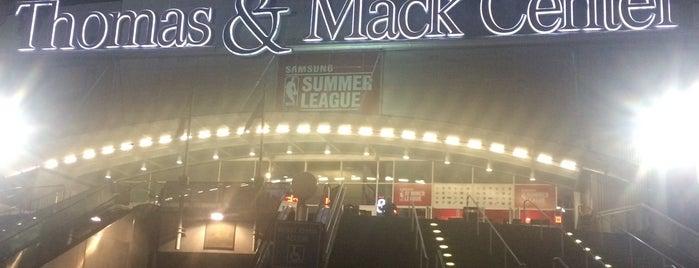 Thomas & Mack Center is one of Gustavia : понравившиеся места.