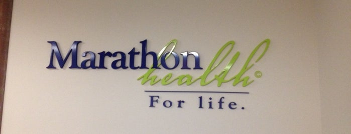 Marathon Health is one of my places.