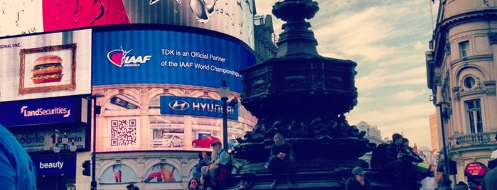 Piccadilly Circus is one of London Cultural.