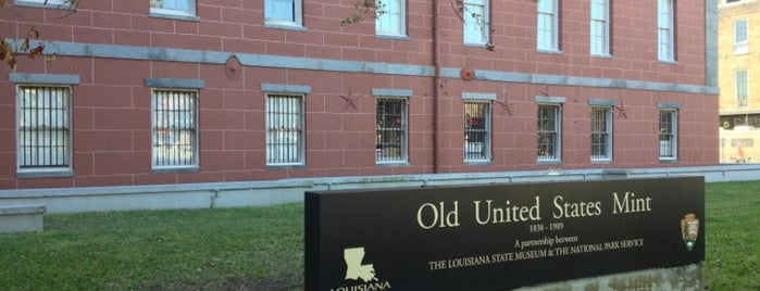Old U.S. Mint is one of Lieux qui ont plu à Kory.