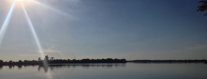 Horse Shoe Lake is one of Illinois State Parks.