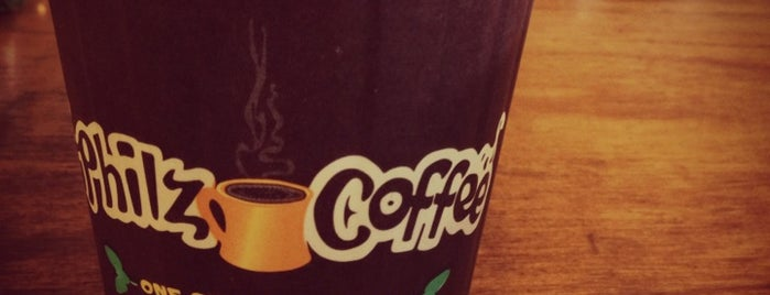 Philz Coffee is one of For the Love of Caffeine.