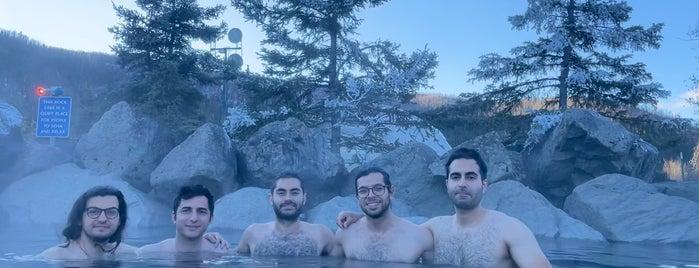 Chena Hot Springs Resort is one of Jen Randall in Alaska.